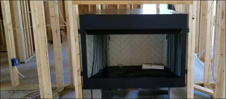 Gas Log Fire Place Installation